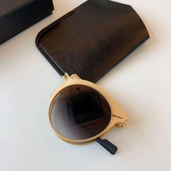 güneş gözlüğü R175225 lüks tasarımcı popüler güneş gözlüğü erkekler kadınlar moda en kaliteli ultra hafif titanyum çerçeve İş Gözlükçü