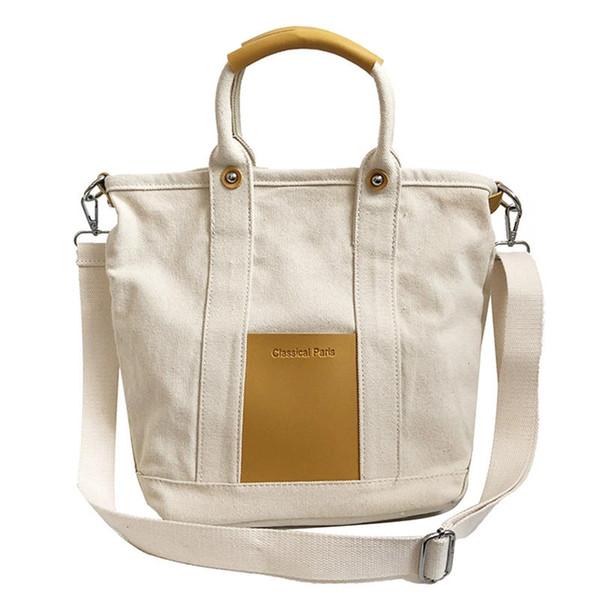 IPRee® Women Tote Handbag Messenger Bag Vintage Shoulder Bag Shopping Large Capacity Crossbody Canvas Bags