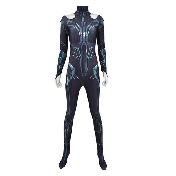 Hela Costume Cosplay Thor Ragnarok Halloween Costumes Suit Cosplay Jumpsuit