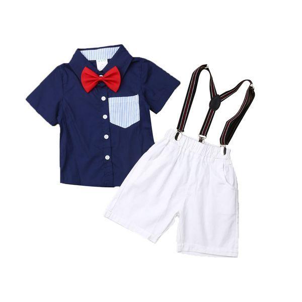 Camicia da bambino estiva per bambini Camicia per bambini Felpa con cappuccio e pantaloni da uomo 0-6Y