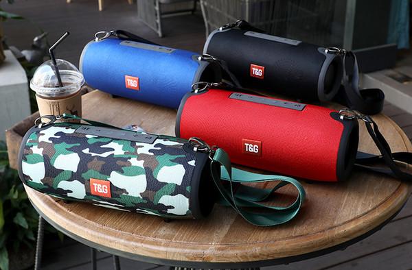 TG118 Cloth art outdoor Big Extream Bluetooth Speaker waterproof Stereo Subwoofers Soundbox .big war drums Bluetooth Speaker