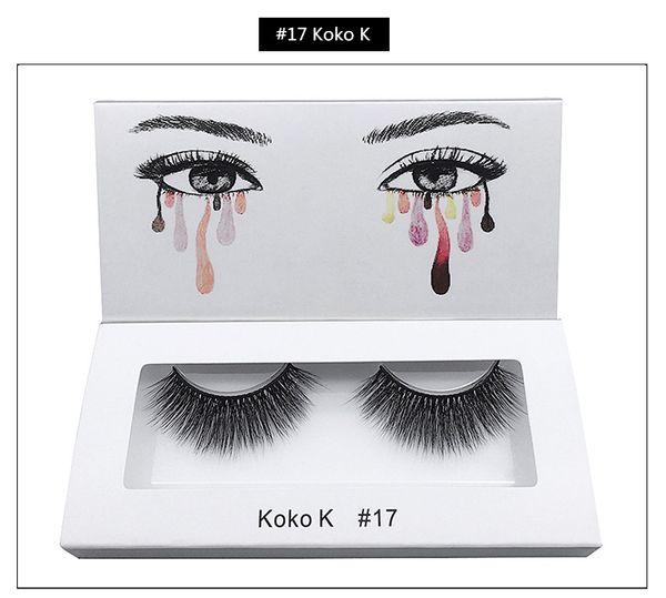 20 stili 3d visone ciglia visone ciglia finte morbido naturale spesso falso handmade ciglia eye lashes extension attrezzo di bellezza GGA2220