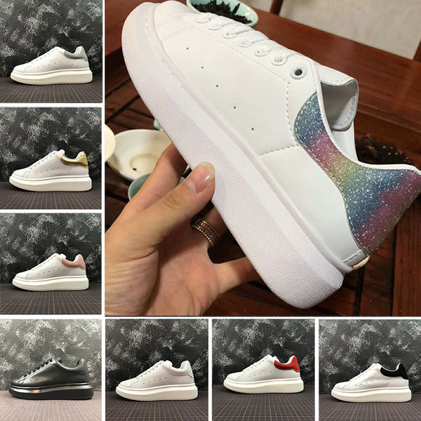 New With Box ACE Brand Fashion Luxury Designer Women men White Casual shoes red womens mens Low Cut Leather Flat Designers Outdoor Shoes