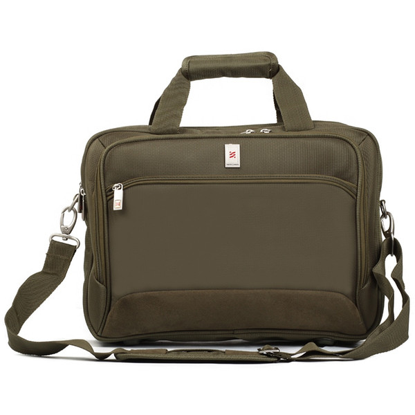 NEWCOM Briefcase for Men Polyester Lightweight Laptop Computer Bags Adjustable Waterproof Dual-use Portable #235434