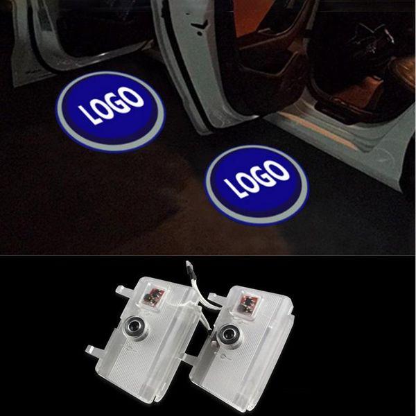 For Mazda 6 Atenza 2014 2015 2016 2017 2PCS Car Door Welcome Light Car-styling Logo Emblem Ghost LED LOGO Projector Lights
