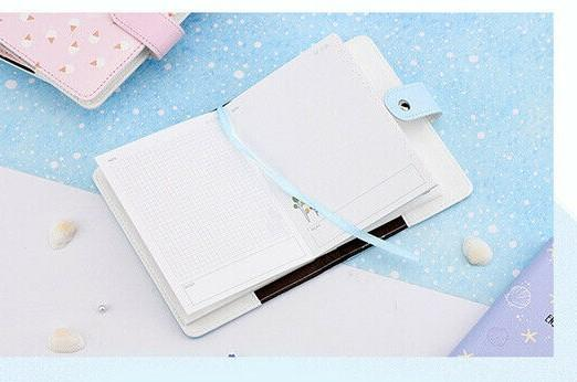 2020 A6 Notebook Paper Planner Bullet Journal Agenda Color Page