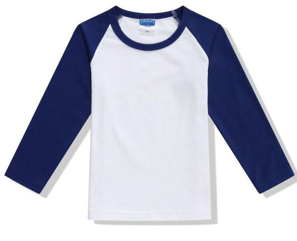 100% Cotton Brand wholesale Ora#35 Quality 2017 Dark blue Sleeve Men Long Shirts round collar For
