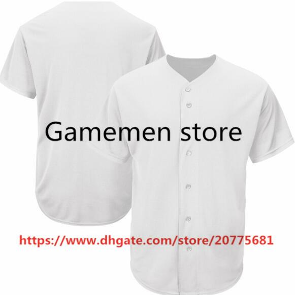 Gamemen negozio SP75 baseball maglie uomini Kid adulti Lady gioventù Donne personalizzato cucito Qualsiasi Tuo Nome Numero S-4XL