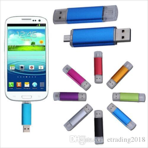 Nuove chiavette USB 2.0 Flash Thumb da 64 GB Pro USB Flash Drive USB Mini Silver Plastic Swivel Memory