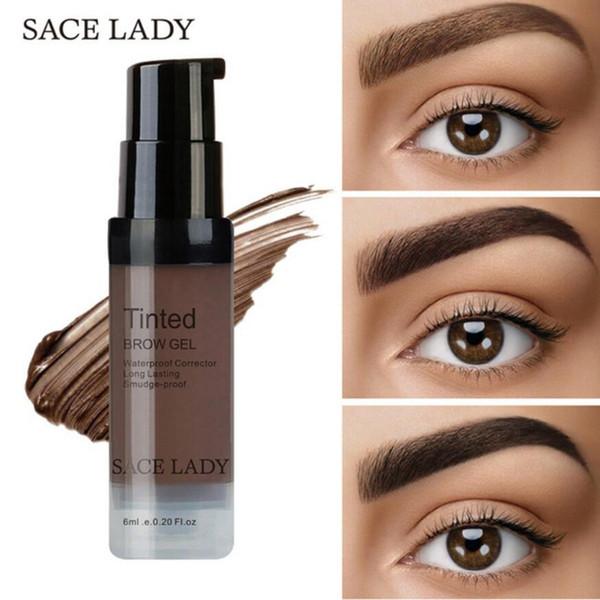 SACE LADY Henna Eyebrow Dye Gel Maquillaje impermeable Sombra para cejas Cejas Tinte de larga duración Maquillaje Pomada cosmética