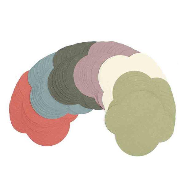 Kicute 10pcs Elegant Retro Colorful Colored Blank Mini Paper Envelopes DIY Crafts Wedding Invitation Envelope Gilt Envelope