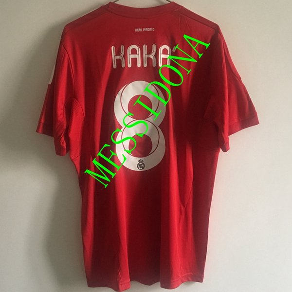 new style 2598a 1801c 2019 2011/12 REAL MADRID RETRO VINTAGE CLASSIC RONALDO 7 KAKA 8 OZIL RUAL  Soccer Jersey Camisa Football Shirt Kit Camiseta Futbol Maill From ...