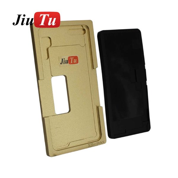 Jiutu New 2 in 1 Alignment & Lamination Mold with Rubber Mat For iPhone X XS XS Max Positioning