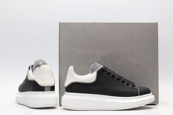 2019 Zapatos de diseñador Entrenador de velocidad Oreo Triple Negro Verde Plano Calcetines de moda de lujo Bota Diseñador Hombres Mujeres Zapatillas yd19030807