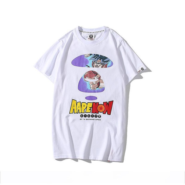 High quality T-shirt APE shirt japan function tide brand Slim fit fashion summer summer brand classic short sleeve tee shirt free delivery