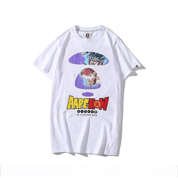 Высокое качество футболки APE рубашка япония функция прилив бренда Slim Fit мода лето лето марка классическая футболка с коротким рукавом бесплатная доставка
