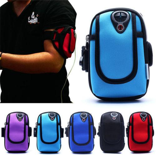 """Sports Jogging Running Arm Band Holder Pouch Case Cover 4.7"""" Mobile Phone iPhone"""