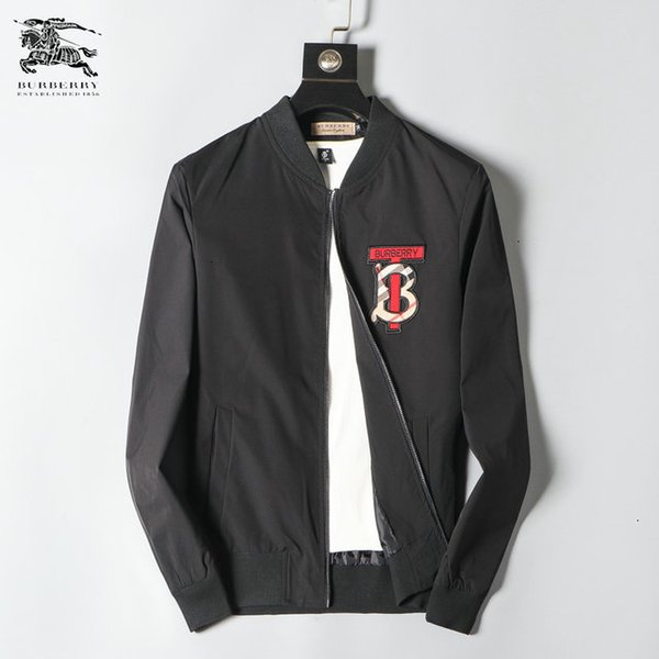 Spring And Autumn Original Pure Color Clothes Male Style Leisure Time Exquisite Long Sleeves mens Jacket 0902118