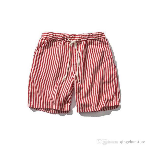 Hohe Qualität Baumwolle Männer Shorts Sommer 2018 Strand Mode Sport Beiläufige Kurze Hosen Heißer Verkauf Strand Shorts M - 2XL