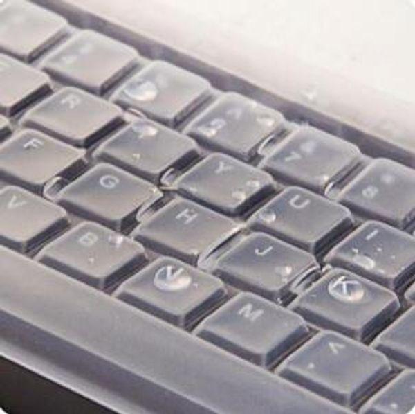 2019 1 STÜCK Silikon Universal Desktop Computer Tastatur Abdeckung Hautschutzfolie Abdeckung