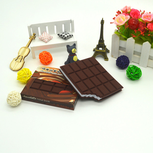 Chocolate Shape Convenient Stationery Notebook Individualized Memo Pad Diy Cover Notepad Student Stationery School Supplies