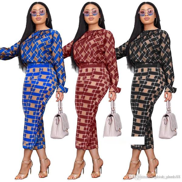 Vestuário de moda Impresso roupas sexy coloridas das mulheres novas Casual Vestidos Europa e América Tamanho