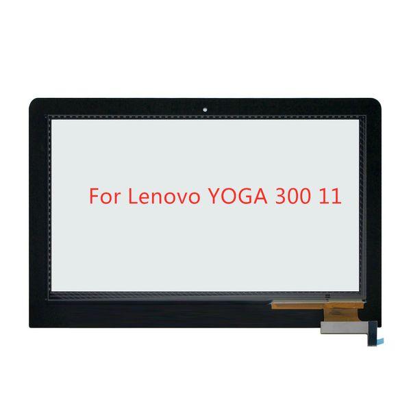 Para Lenovo YOGA 300 11 Reemplazo de vidrio digitalizador táctil Yoga 300-11IBR 300-11IBY 80M0007NGE