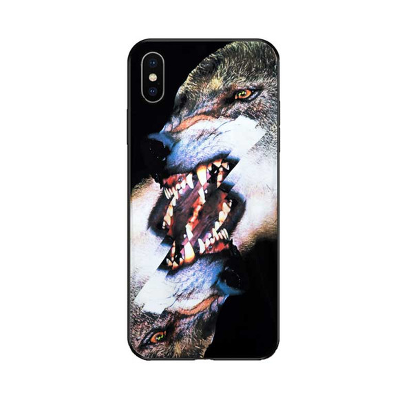 2019 New Brand Phone Case for Iphone 6/6s,6p/6sp,7/8 7p/8p X/XS,XR,XSMax Designer MARCEL@ BURL@N Luxury Animal Print Back Cover Wholesale