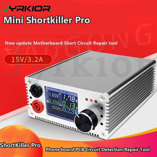 ShortKiller Pro con pantalla LCD de la placa base del circuito de detección de la caja de herramientas cortocircuito Burning Tool Repair Reparación corto asesino