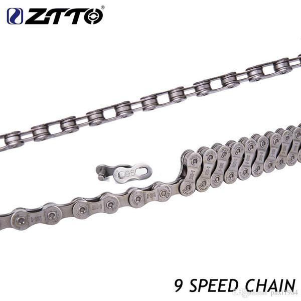 ZTTO MTB Mountain Bike Road Bike galvanized 9s 18s 27s 9 Speed chain for K7 Parts with Magic Knob master Bike parts