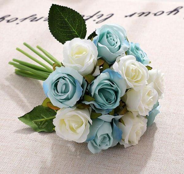 흰색 파란색