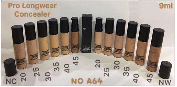 M Marca NUEVO Makeup Liquid Foundation PRO LONGWEAR CONCEALER CACHE-CERNES 9ML Foundation good DHL FREE shipping