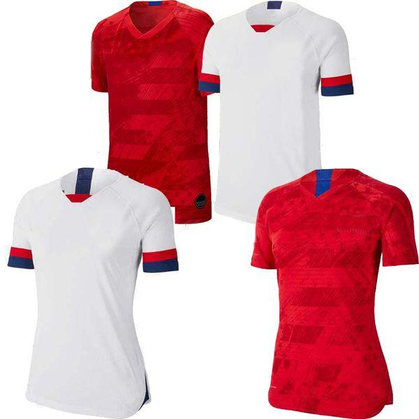 SIZE S-2XL Gold cup 2019 America Home away USA men Woman Soccer Jersey 19 20 copa america United States USA Football SHIRT Uniform 2020