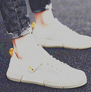 Дышащая спортивная спортивная обувь, непромокаемые льняные туфли, маленькие белые туфли, кроссовки и кроссовки 2696549748