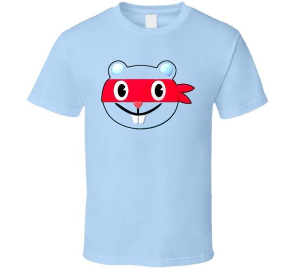 The Happy Tree Funny Cartoon Splendid Animation T Shirt