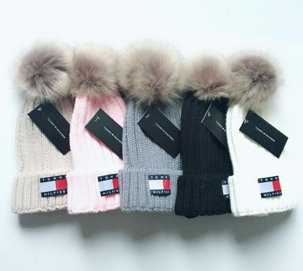 Neue Design Birne Winter Herbst Warme Mütze Hohe Qualität Hip-Hop Mütze Männer Frauen Hüte Strickmützen Einstellbar