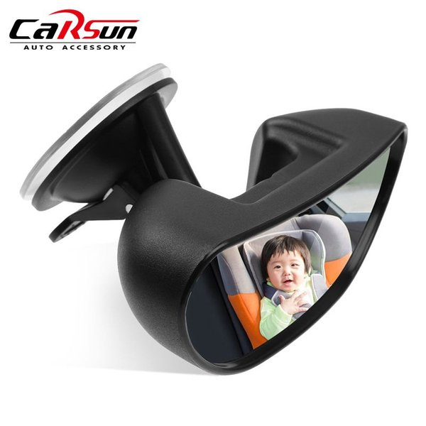 baby safety mirror Car Safety Rear View Baby Mirror Backseat Facing Rear Ward Child Infant Care Monitor for Auto Rotation Car Accessories