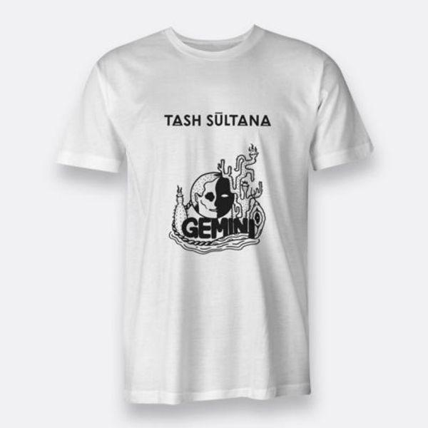 Таш Султана Близнецы альтернативный рок с коротким рукавом обычная белая мужская футболка 100% хлопок случайные мужчины футболка О-образным вырезом