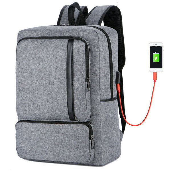 good quality New Male Female Usb Charging Anti Theft Laptop Backpack Women Men Business Backpacks Teenager Fashion Travel School Bags