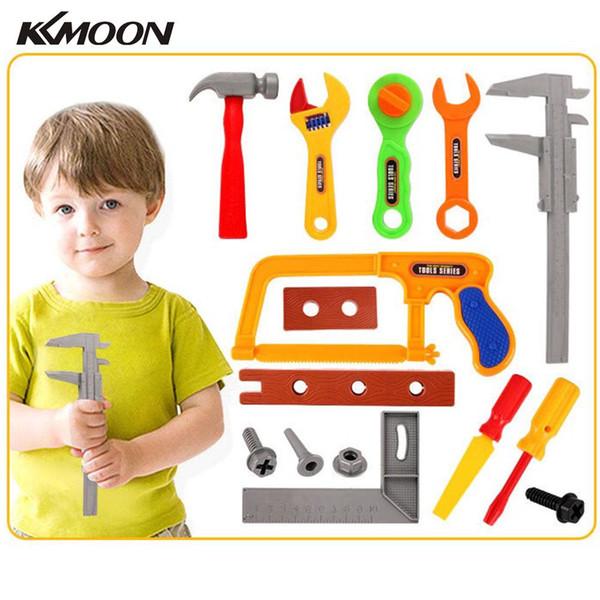 KKMOON Профессиональные Малыши Притворись Play Tool Kit аксессуары Развивающие игрушки Детские Play Набор инструментов для детей подарок
