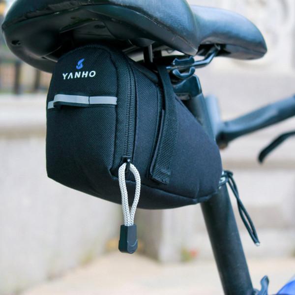 Dağ Bisikleti Yol Bisikleti Seatpost Kuyruk Çanta MTB Bisiklet Arka Eyer Çanta Pannier Fermuar Kılıfı