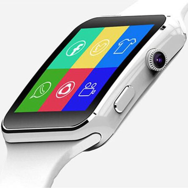2018 New X6 Smart Watch with Camera GPRS Touch Screen Support SIM TF Card Bluetooth Smartwatch for iPhone Xiaomi Android Phone