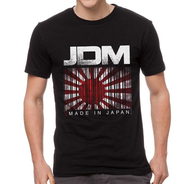 JDM Made In Japan T-shirt Men Adult Slim Fit T Shirt S-XXxl Great Discount Cotton Men Tee Short Sleeve Cool Casual