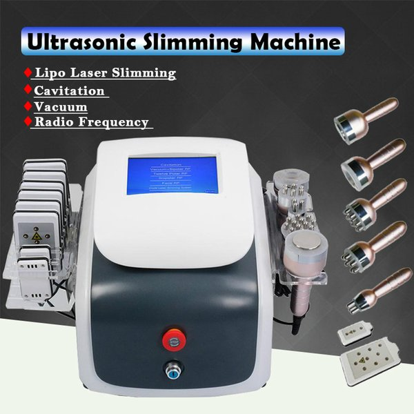 Nuovo vuoto di cavitazione rf di modello che dimagrisce il grasso di liposuzione del laser di perdita di peso del laser di Lipo dissolve l'attrezzatura facciale di bellezza di radiofrequenza dell'ascensore