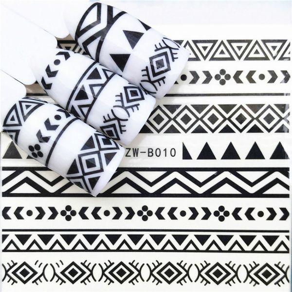 1 Pcs Skull Halloween Plant Sticker DIY Nail Art Nail Polish Long-Lasting Polish Girl Cute Decoration Tool