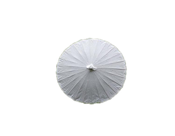 Wedding Bride Parasols White Paper Umbrella Wooden Handle Japanese Chinese Craft Umbrella 40cm 60cm Diameter Wedding Umbrellas