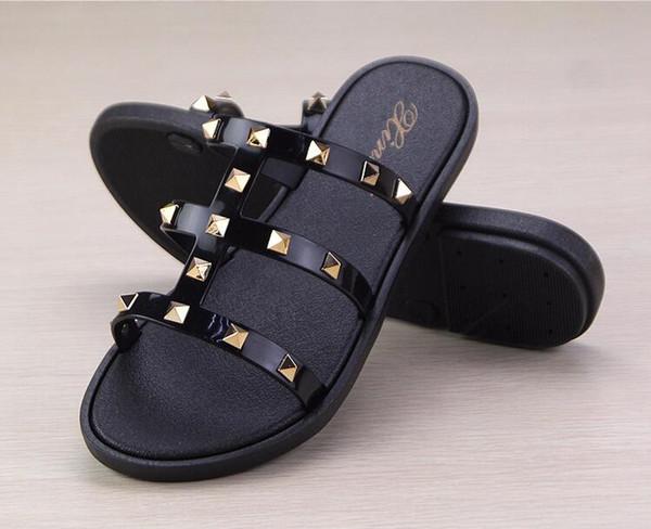 Женщины сандалии дизайнер обувь роскошь скольжения флип-флоп, флип-флоп плоские скользкие толстые сандалии тапочки флип-флоп тапочки сандалии Г7.18