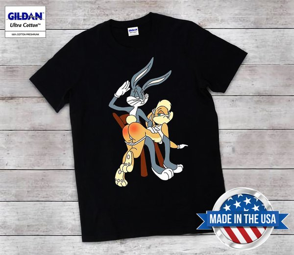 Bugs Bunny e Lola T-shirt Looney Tunes Tee Unisex Todos os tamanhos Raros Engraçado frete grátis Unisex top casual