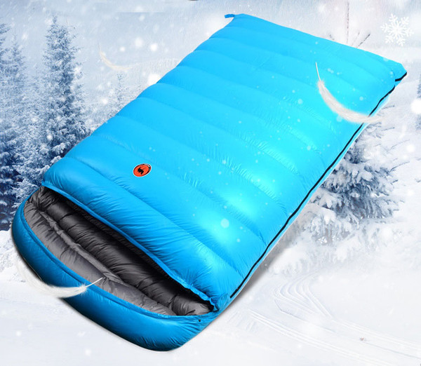 -25 to -10 winter sleeping bag lover sleeping bag white duck down