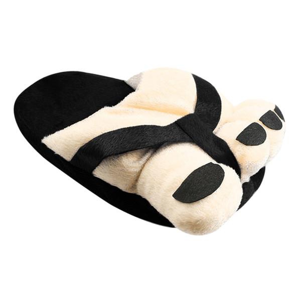 Unisex Soft Plush Big Feet Cute Cartton Lovers Couple Shoes Winter Slipper Shoes